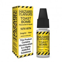 Toast bomb50/50 Hazard E-Liquid10ml