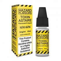 Toxin Astaire 50/50 Hazard E-Liquid 10ml