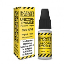 Unicorn cyanide 50/50 Hazard E-Liquid10ml