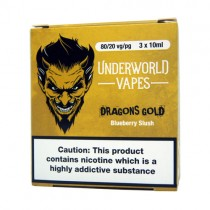 3 X 10ml E-Juice Dragons Gold by Underworld Vapes