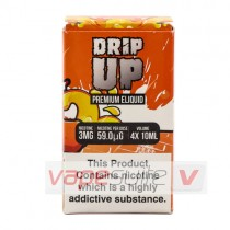 Orange Citrus sherbet e liquid by drip Up 4X10ml (40ml)