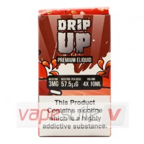 Sweet Strawberry Sherbet E Liquid By Drip Up 4X10ml (40ml)