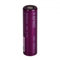 Flat Top Efest IMR 18650 3000MAH 35A Battery