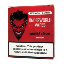 3 X 10ml Vampire Venom E-Juice by Underworld Vapes
