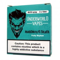 3 X 10ml E-Juice Warewolfs Silver by Underworld Vapes