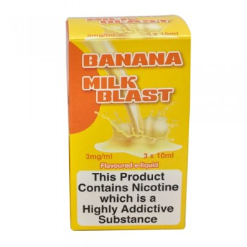 Banana Milk Blast e-juice 10ml by VG Vapour