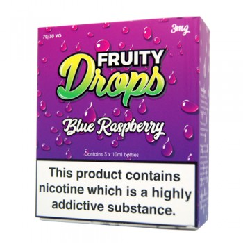 Blue Raspberry E-Liquid by Fruity Drops