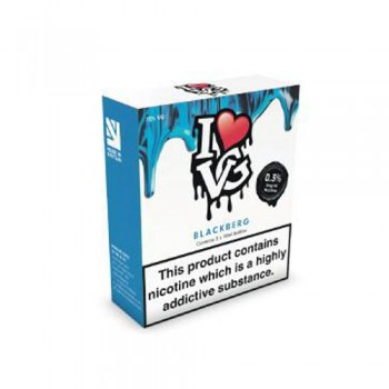 Blackberg TPD Compliant 10ml Multipacks Of 3 By I Love VG