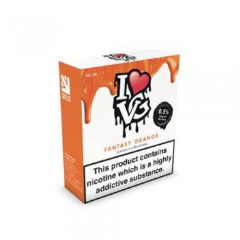 Fantasy Orange TPD Compliant 10ml Multipacks Of 3 By I Love VG