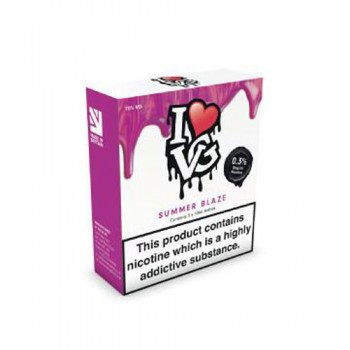 Summer Blaze TPD Compliant 10ml Multipacks Of 3 By I Love VG