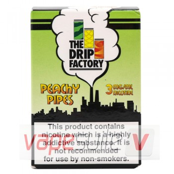 Peachy Pipes Liquid By The Drip Factory 10ml