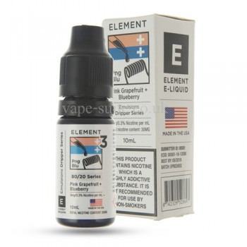 Pink Grapefruit blueberry Premium E-Liquid By Element