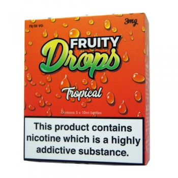 Tropical E-Liquid By Fruity Drops