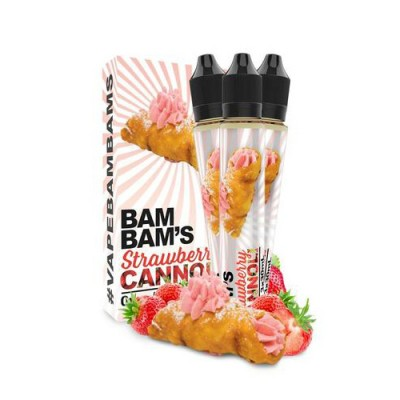 Bam Bam's Cannoli Strawberry